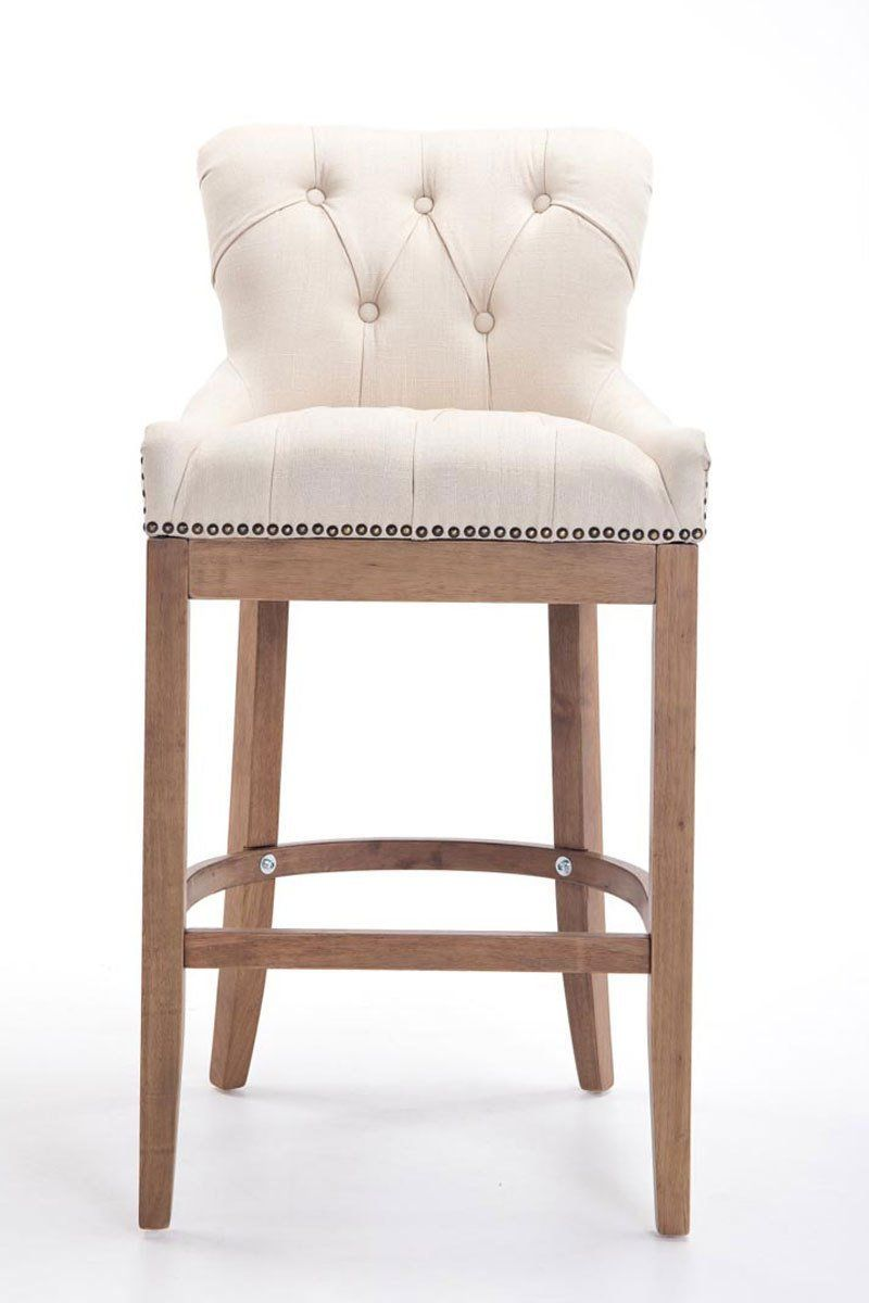 Wooden Chair Frames For Upholstery Uk Grey Cushions Clp Stylish Bar Stool Buckingham Light Antique Frame Armchair With Thick Tweed