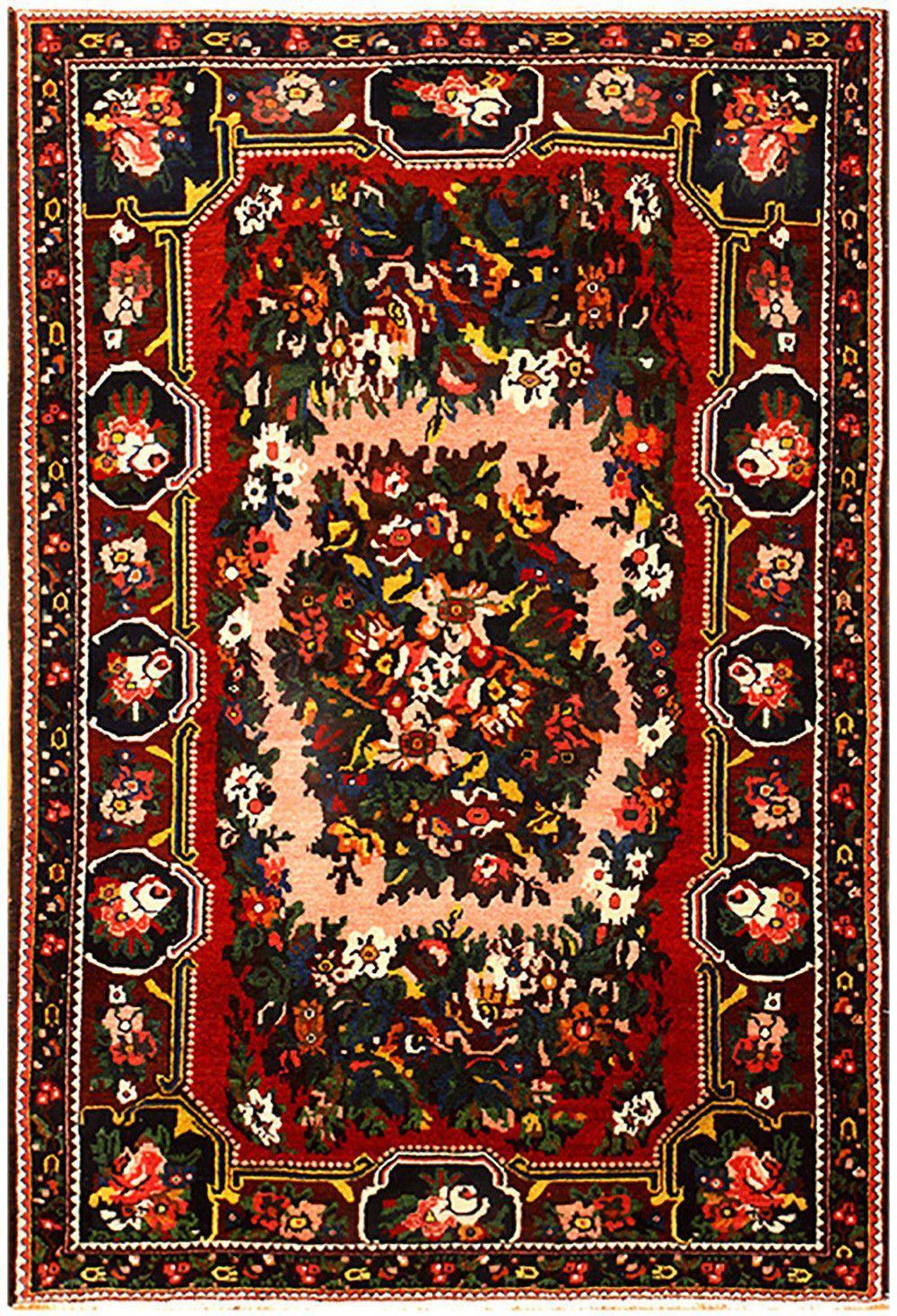 Persian Bakhtiari Rug Country Of Origin Type Vintage Circa