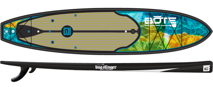 Bote Hd Bugslinger Special Edition Fishing Paddle Board Paddle Boarding Paddle Board Fishing Standup Paddle