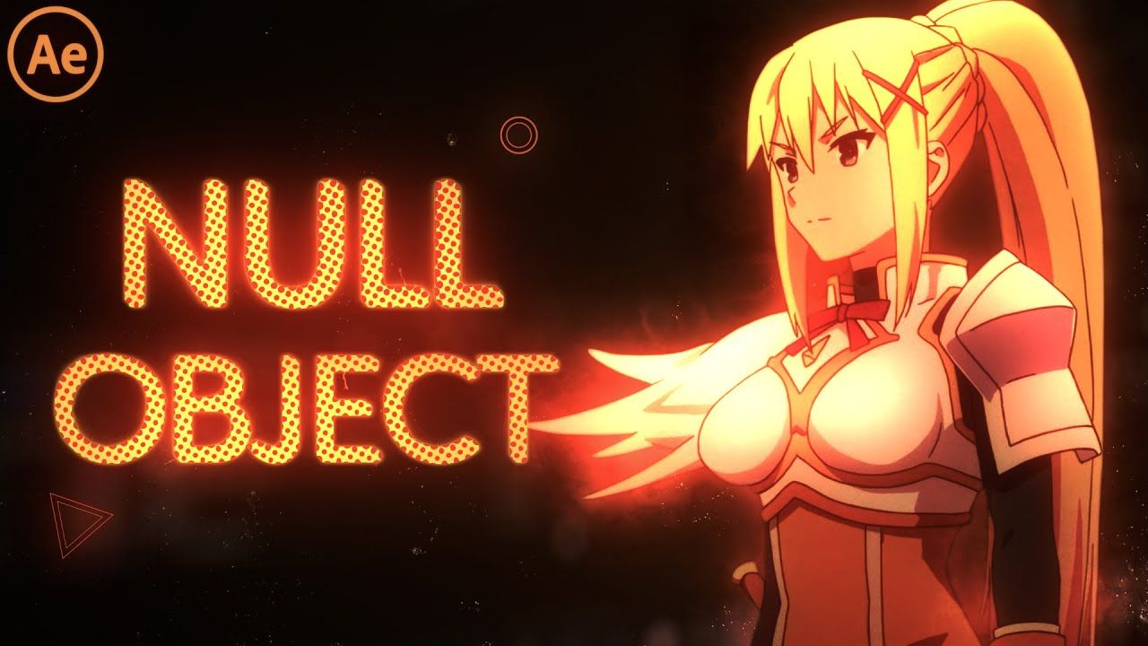 Null Object After Effects Tutorial AMV YouTube in 2020