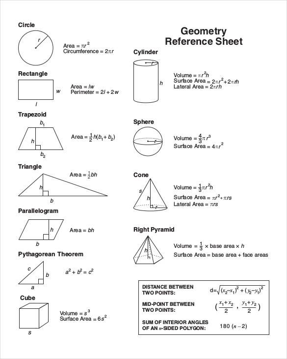 10+ Reference Sheet Templates | Free Printable Word, Excel & PDF ...