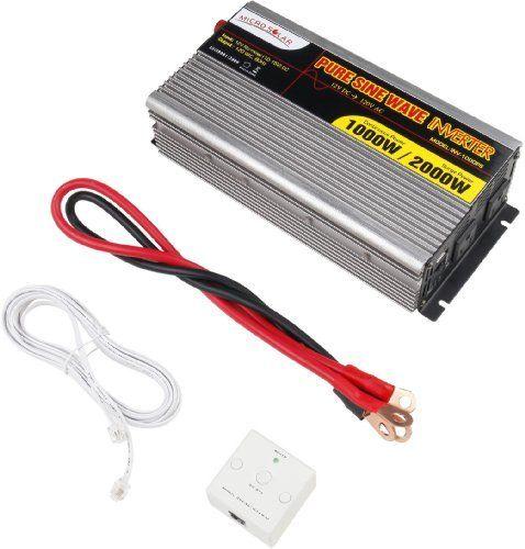 Power Inverters Microsolar 12v 1000w Peak 2000w Pure