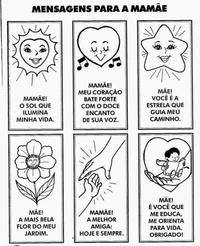 Atividades Dia Das Maes Parte 2 Com Imagens Mensagem Dia