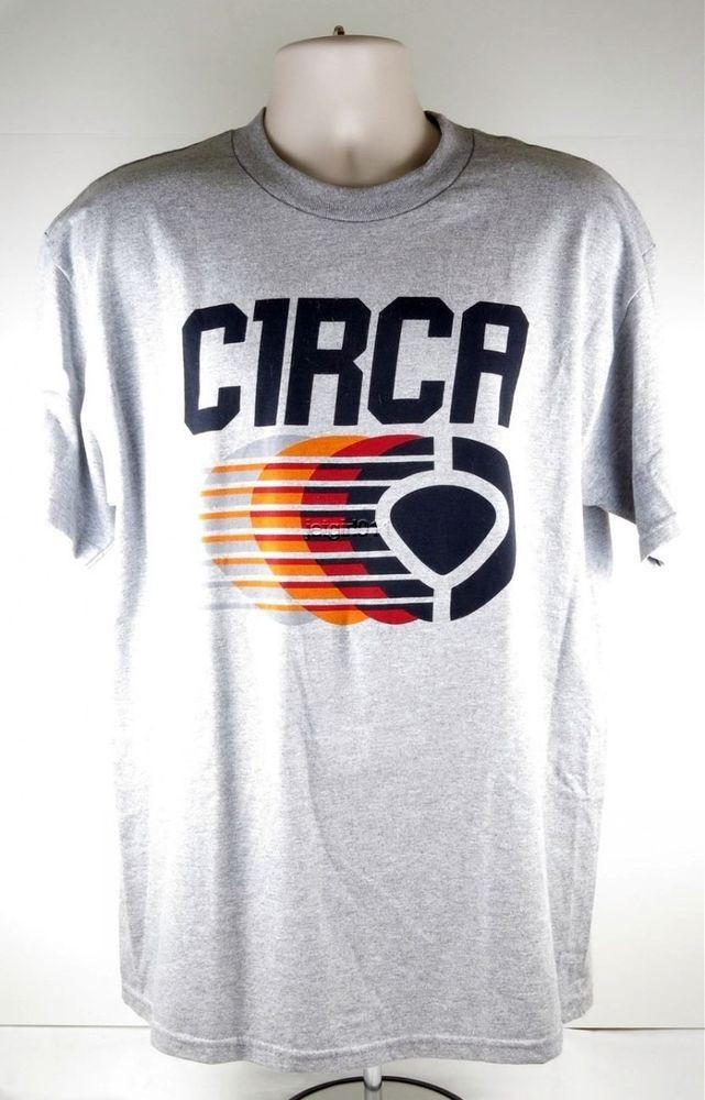 Circa T-Shirt Tee Skate Skateboard Large Black Logo Chad Musca New  #Circa #GraphicTee