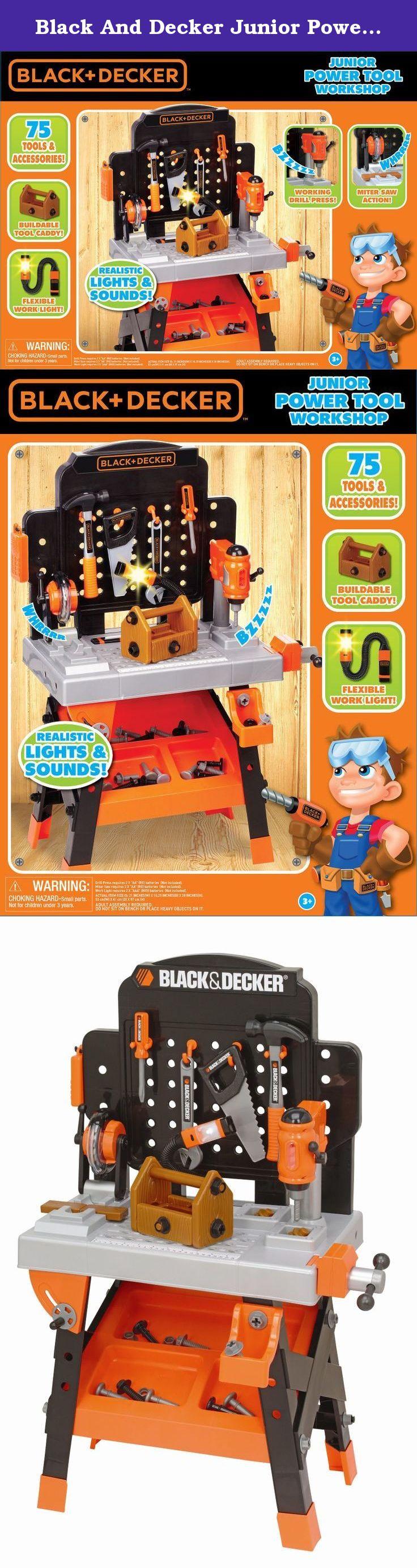 7dae4802f Black And Decker Junior Power Tool Workshop (Closed Box). Black and Decker  Junior