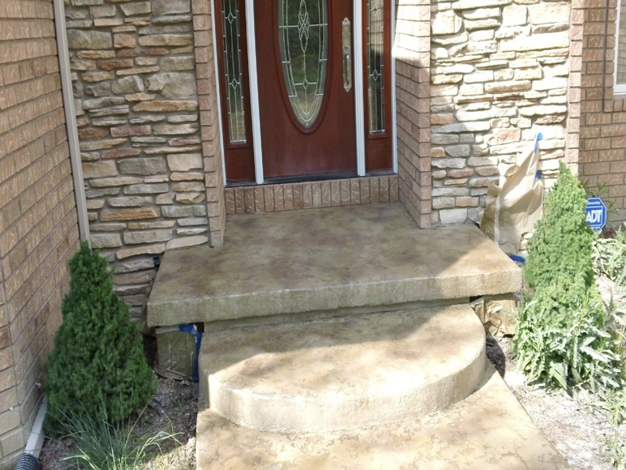 Tuscan Slate Creates Eye Catching Designs To Compliment Your Concrete Surface In Salt Lake City Utah Concrete Coatings Tuscan Concrete Decor