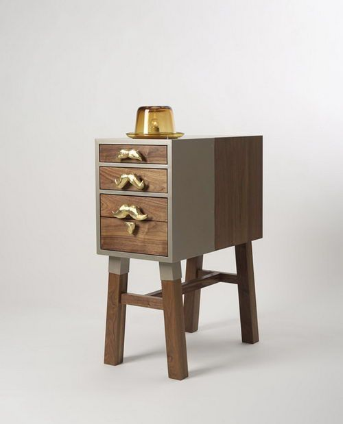 A unique and attractive side table design. This side table design is named as Officer. Designed by Sanghyeon Cho and Ji that work together under Studio AMUNA, the design of this side table is inspired by classic detective story with Officer as its main character.