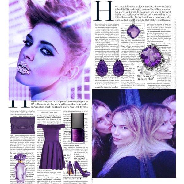 """Purple Madness"" by kimberley-hampton on Polyvore"