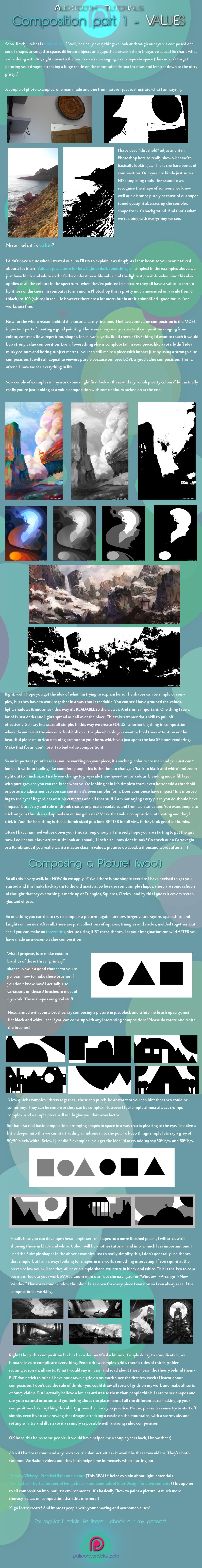 Alextooth - Composition part 1 - Values