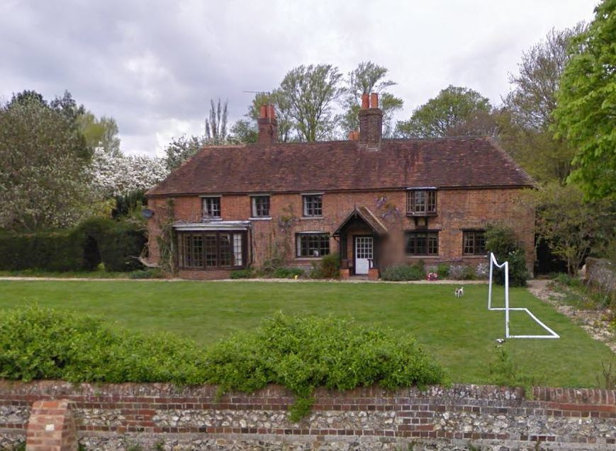 "Peppard Cottage The Country House Where ""Howards End"" Was ed"