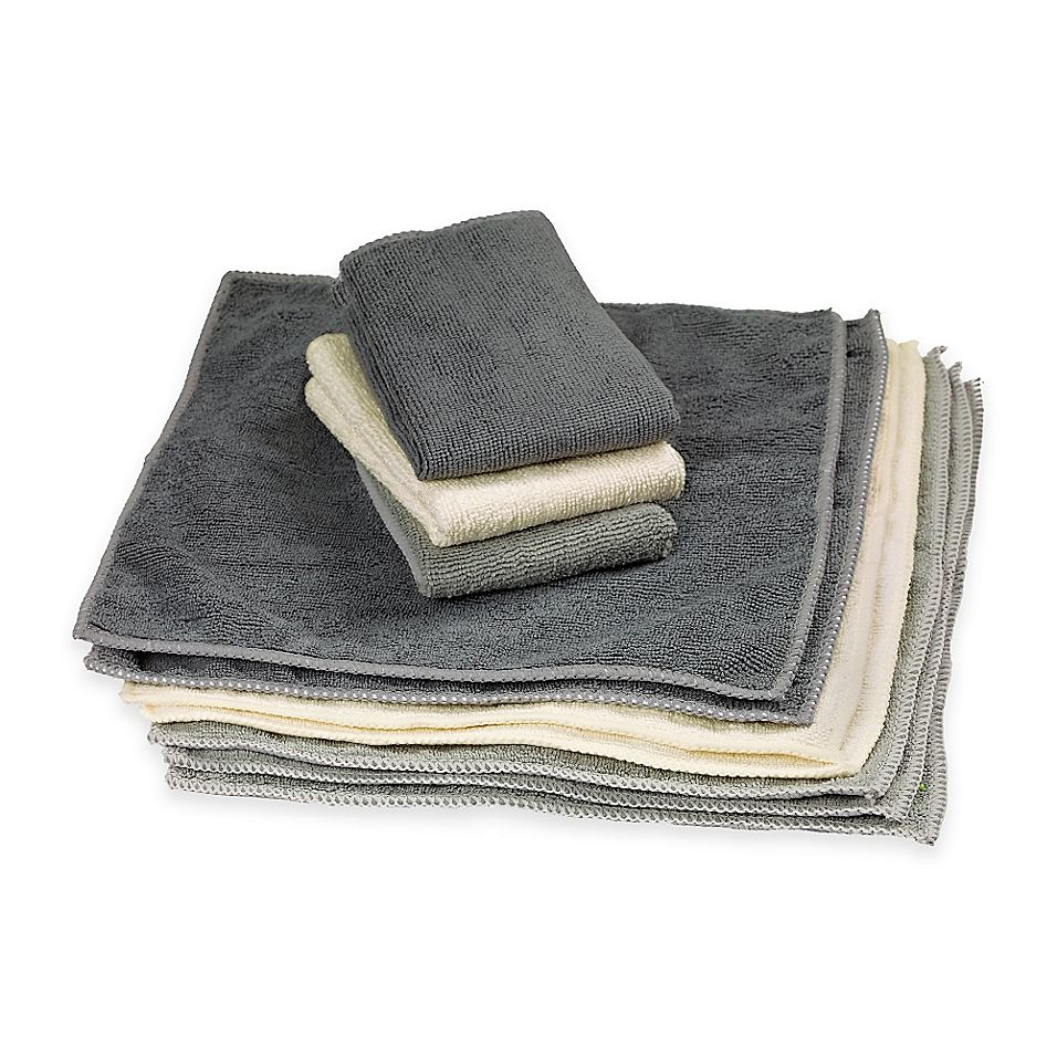 The Original Microfiber Cleaning Towels In 10 Pack Clean