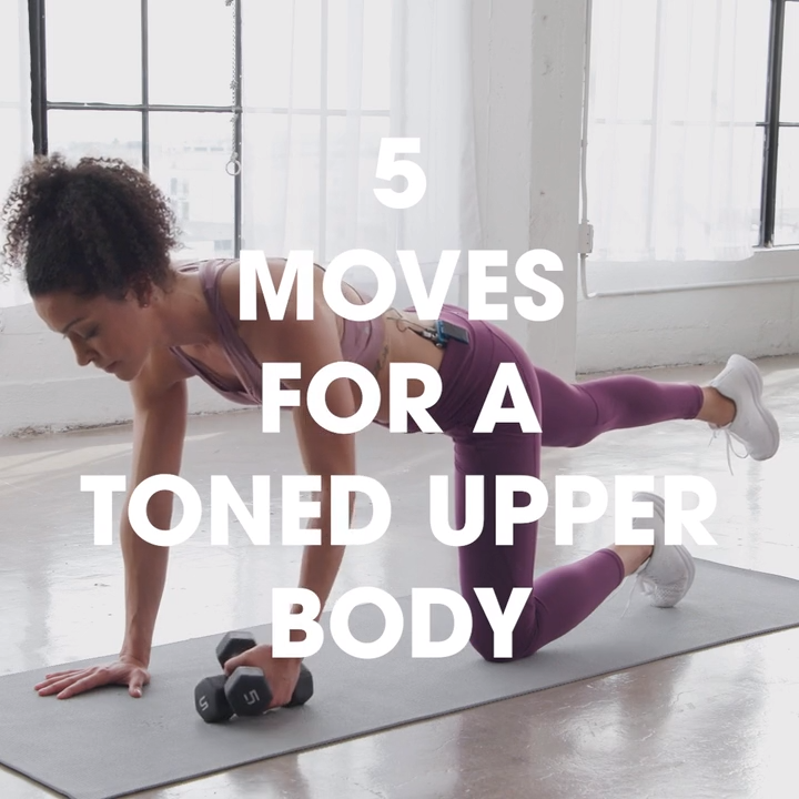 5 Moves For a Toned Upper Body