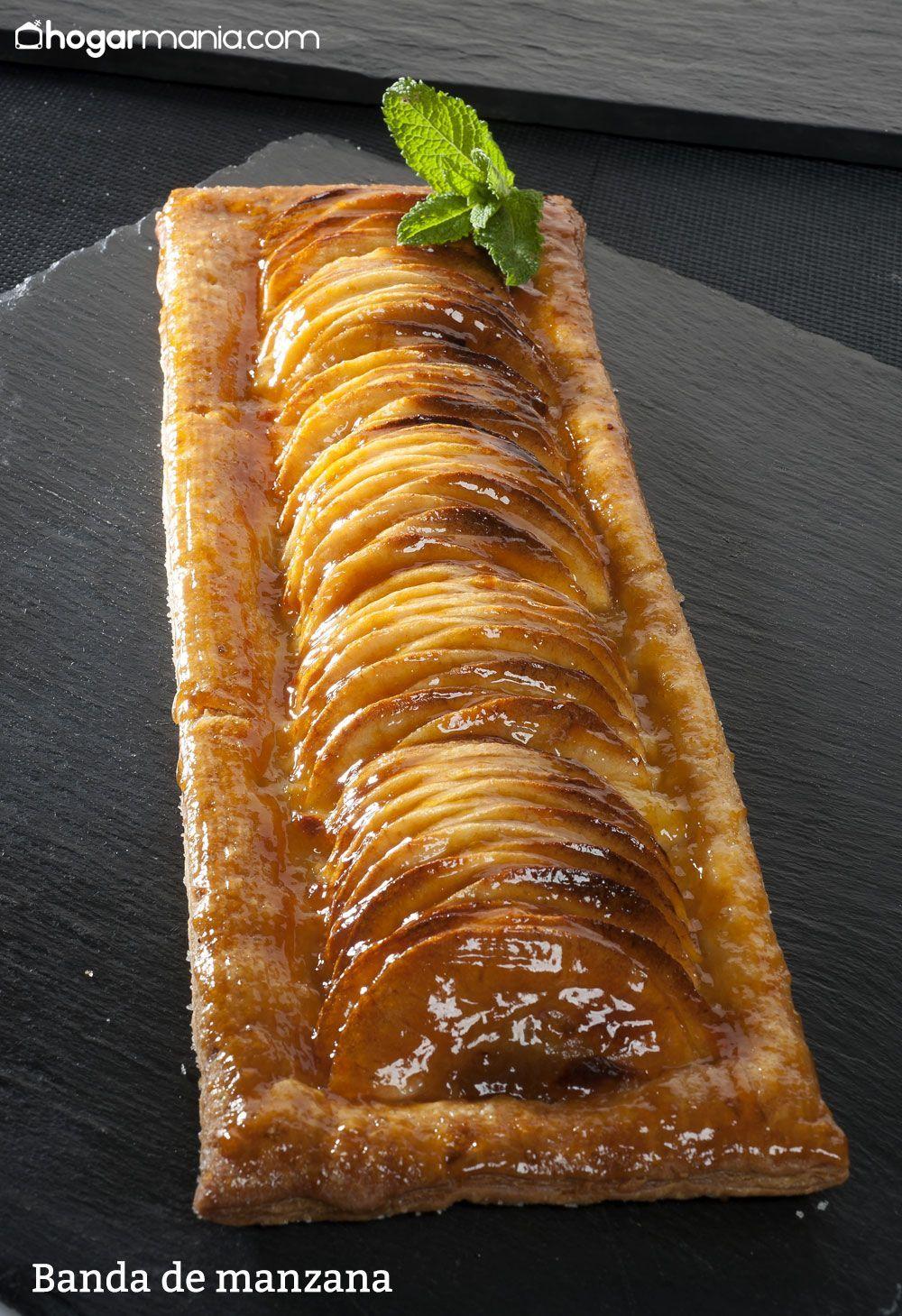 Tarta De Manzana De Hojaldre Y Crema Pastelera J Arguiñano Receta Postres Con Hojaldre Postres Con Frutas Tarta De Manzana Fácil