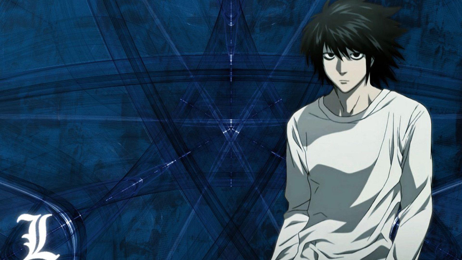 Death Note L Images Wallpaper HD - dlwallhd.