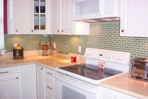 Subway Tile Kitchen Backsplash Pictures in a gallery of ...