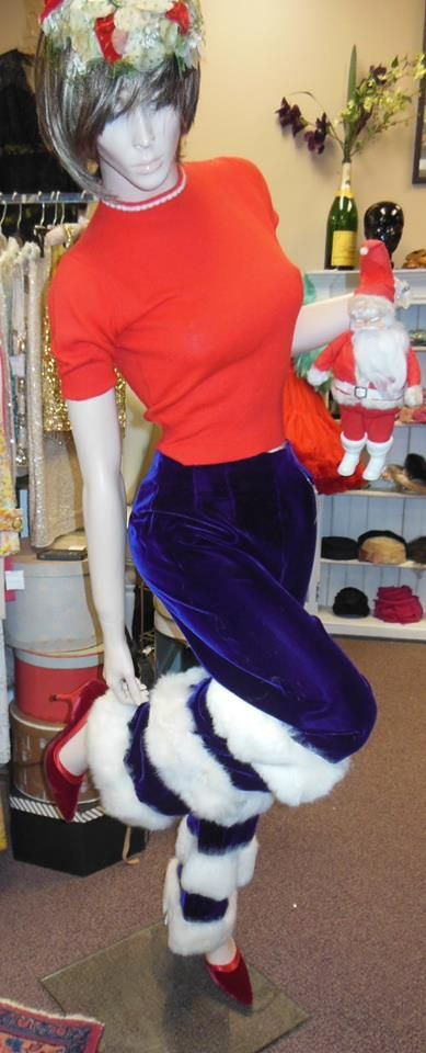 Featured at SoWa Vintage Market this Sunday. Holiday Showstopping Apparel, Christmas Sweaters (Ugly & Cute!) and the infamous Purple Fur Trimmed Pants are still waiting for the perfect owner. Find your Vintage Wish @ #sowavintage #southend this Sunday from 10-4!   #SoWaVintageMarket  www.wishlistconsign.com