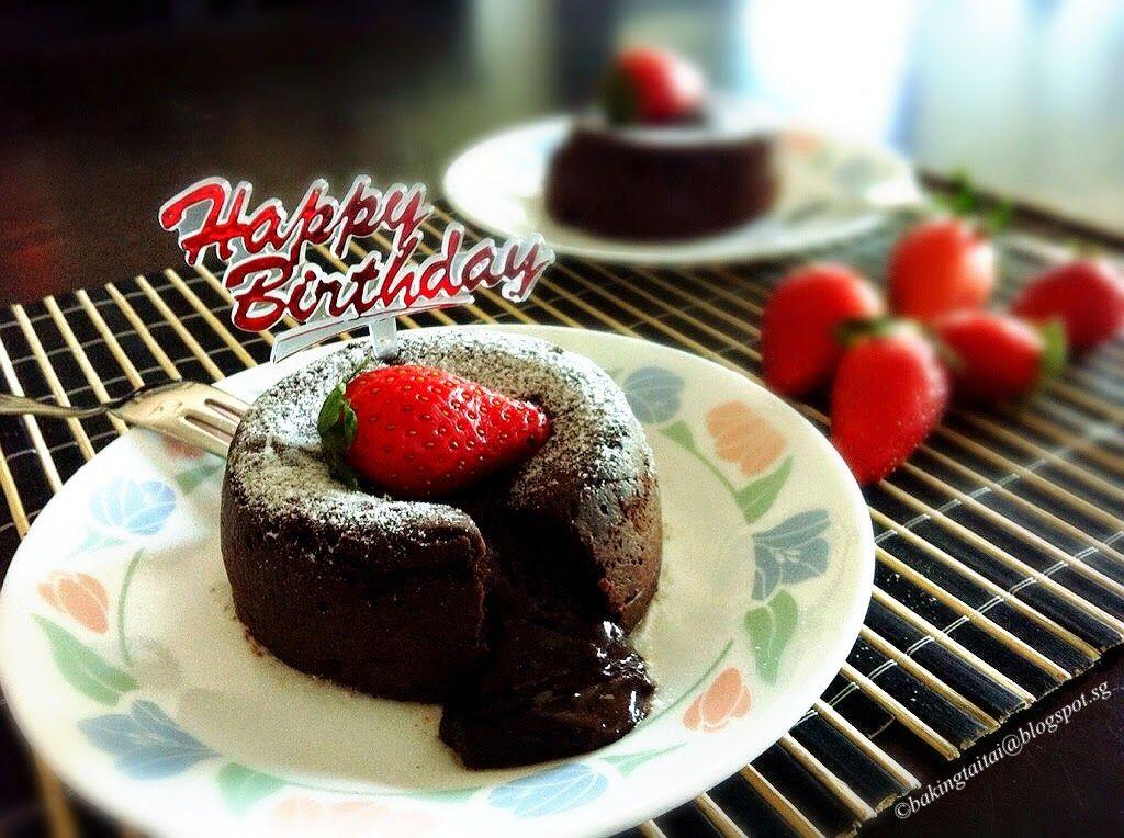 Baking Taitai: \'心太软\'巧克力蛋糕 Molten Lava Chocolate Cake ...