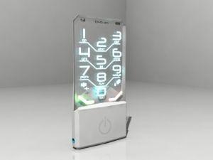 Móvil de #Nokia transparente. La parte inferior del teléfono incluye la batería, la mayoría del hardware e incorpora el botón de encendido en la parte frontal y además incluye una cámara de 5 megapíxeles (en la parte posterior).