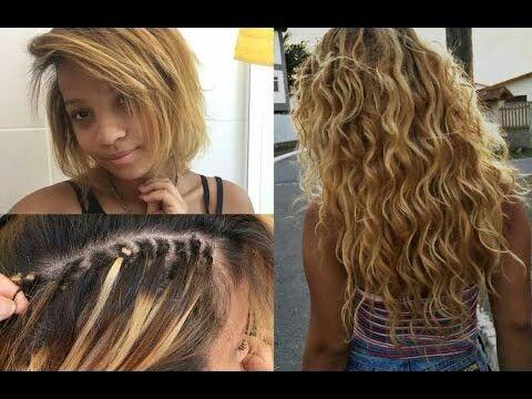 Mega Hair No Italiano Cabelos Estilosos Cabelo Apliques De