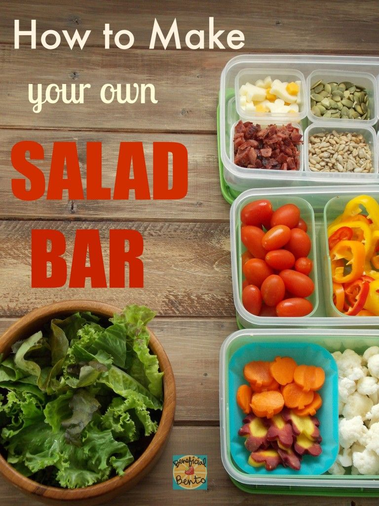 How to Make a Salad Bar recommend