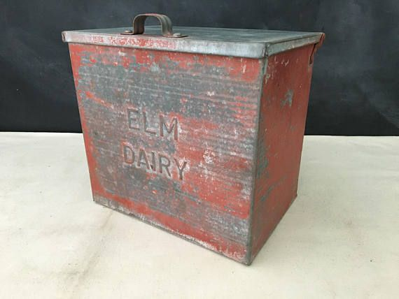 Pin By You Bet Your Glass Etc On Vintage Boxes Containers Vintage Box Glass Boxes Milk Box