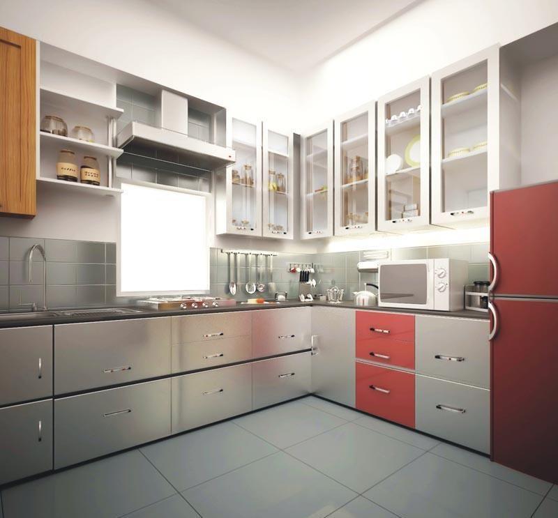 2 Bhk Apartment For Rent Modern Kitchen Design Kitchen Remodel