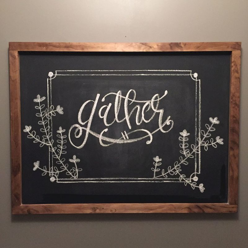 52 awesome practical chalkboard decor ideas for kitchen