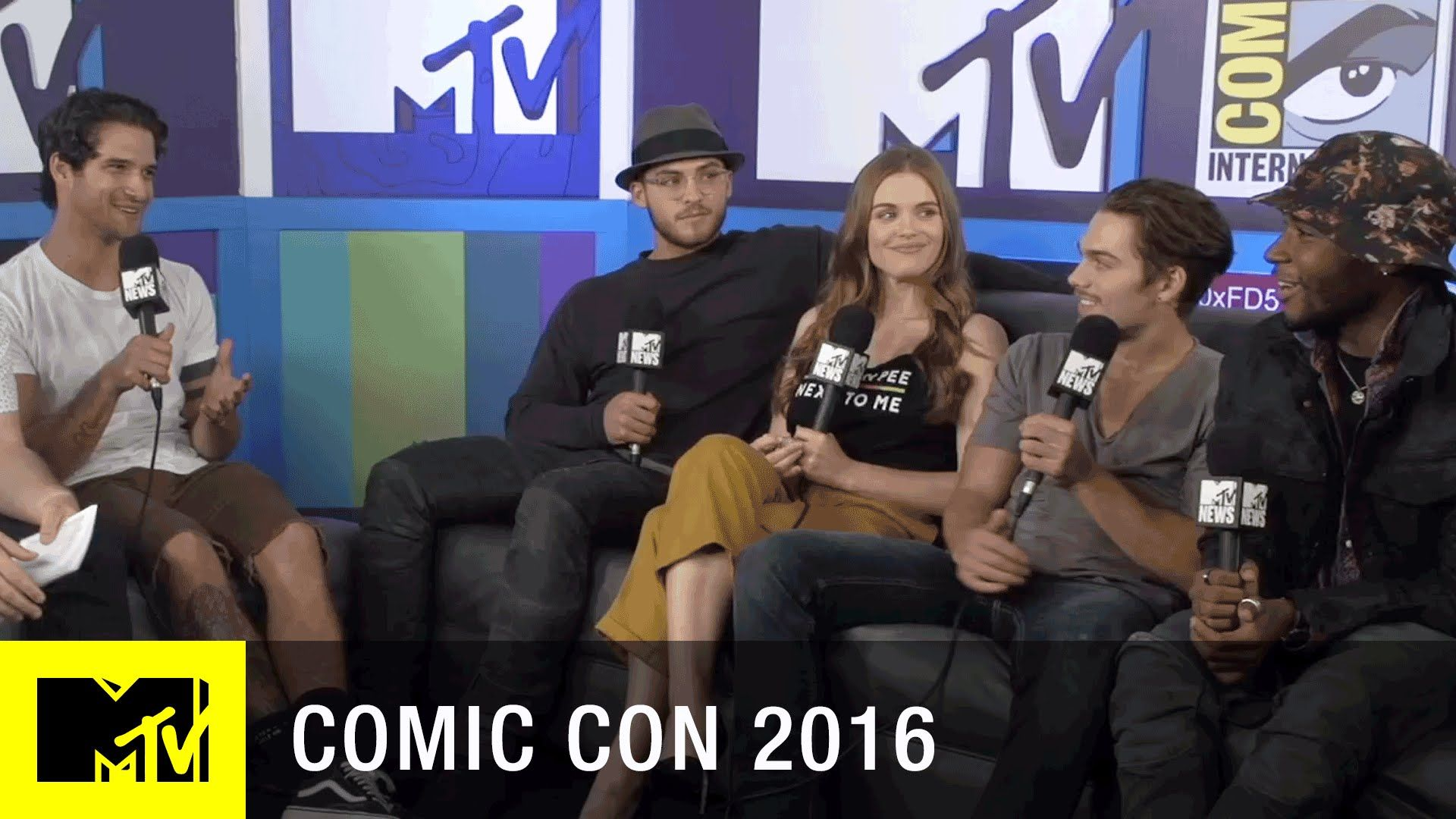 Tyler Posey, Holland Roden, Dylan Sprayberry, Cody Christian, and Khylin Rhambo of Teen Wolf sits down and shares their love for their fans and the experienc...