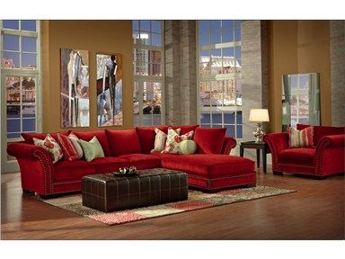 Shop For Robert Michaels Tara Sectional, , And Other Living Room Sectionals  At Furniture Plus