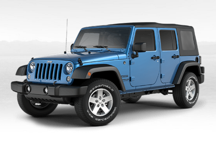 Wrangler Unlimited Hydro Blue Chrysler Jeep Jeep Jeep Dodge