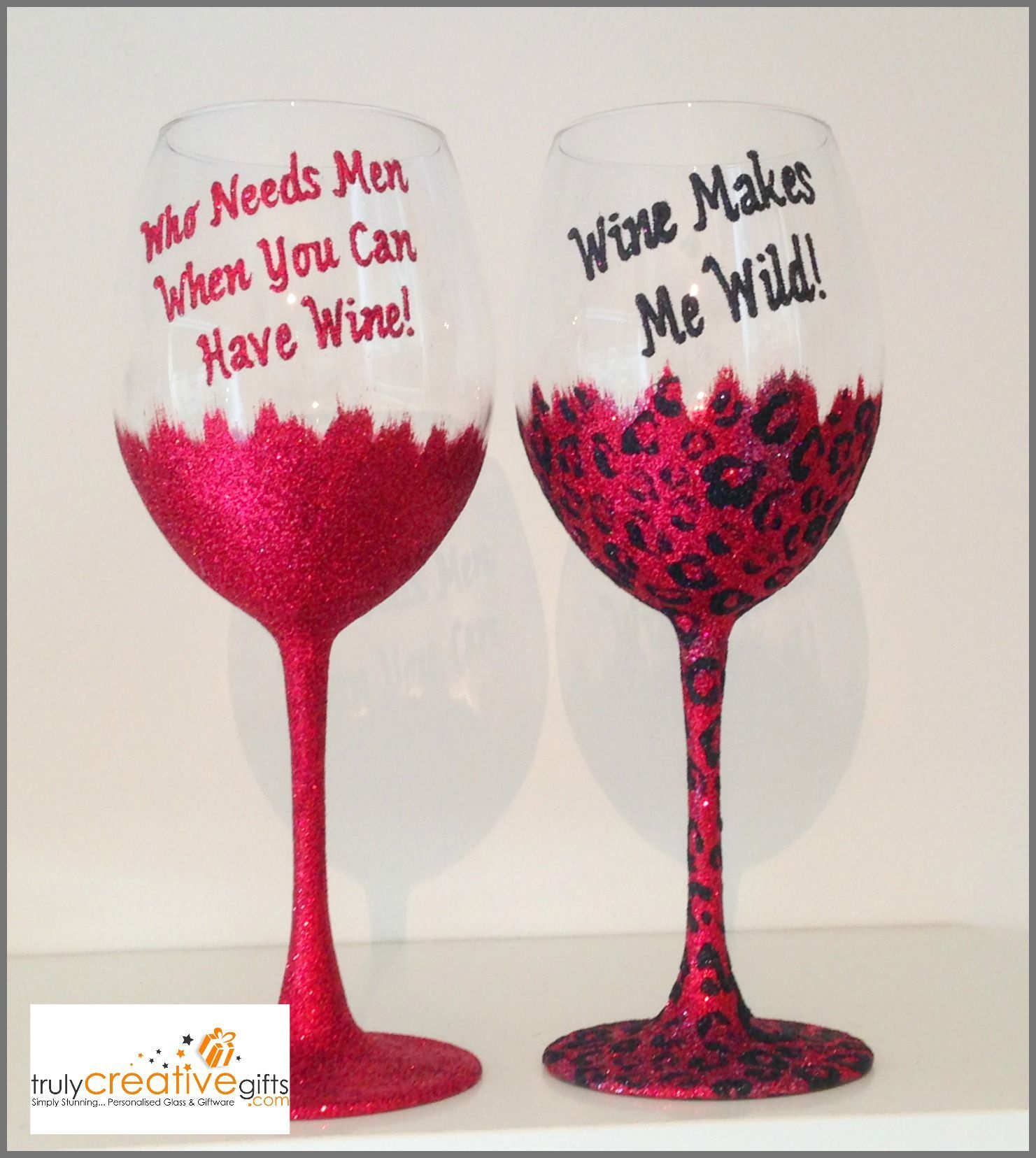 Who Needs Men When You Can Have Wine Glitter Bottom Wine Champagne Prosecco Glass Personalized Valentines Teacher Gifts Christmas Ideas Teacher Gift Card