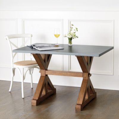 Tatum Trestle Dining Table Ballard Designs Dining Table Trestle Dining Tables Kitchen Table Settings