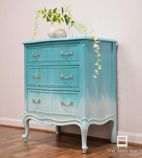 SOLD - French Provincial Nightstand   Side Table   End ...