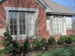 Pin By Rebekah Clark On Trim For Red Brick Brick House Exterior Colors Brick Exterior House Red Brick House Exterior