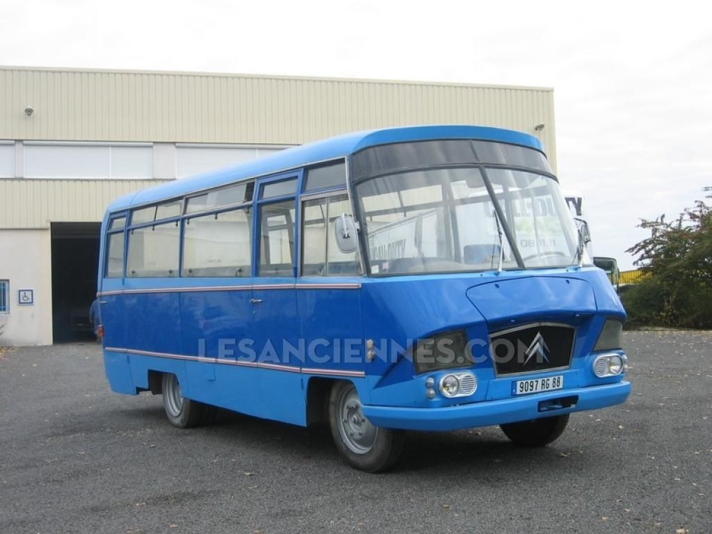 Ventes Autres Véhicules - HEULIEZ PETIT AUTOCAR 350 P HLZ - 1968 ...