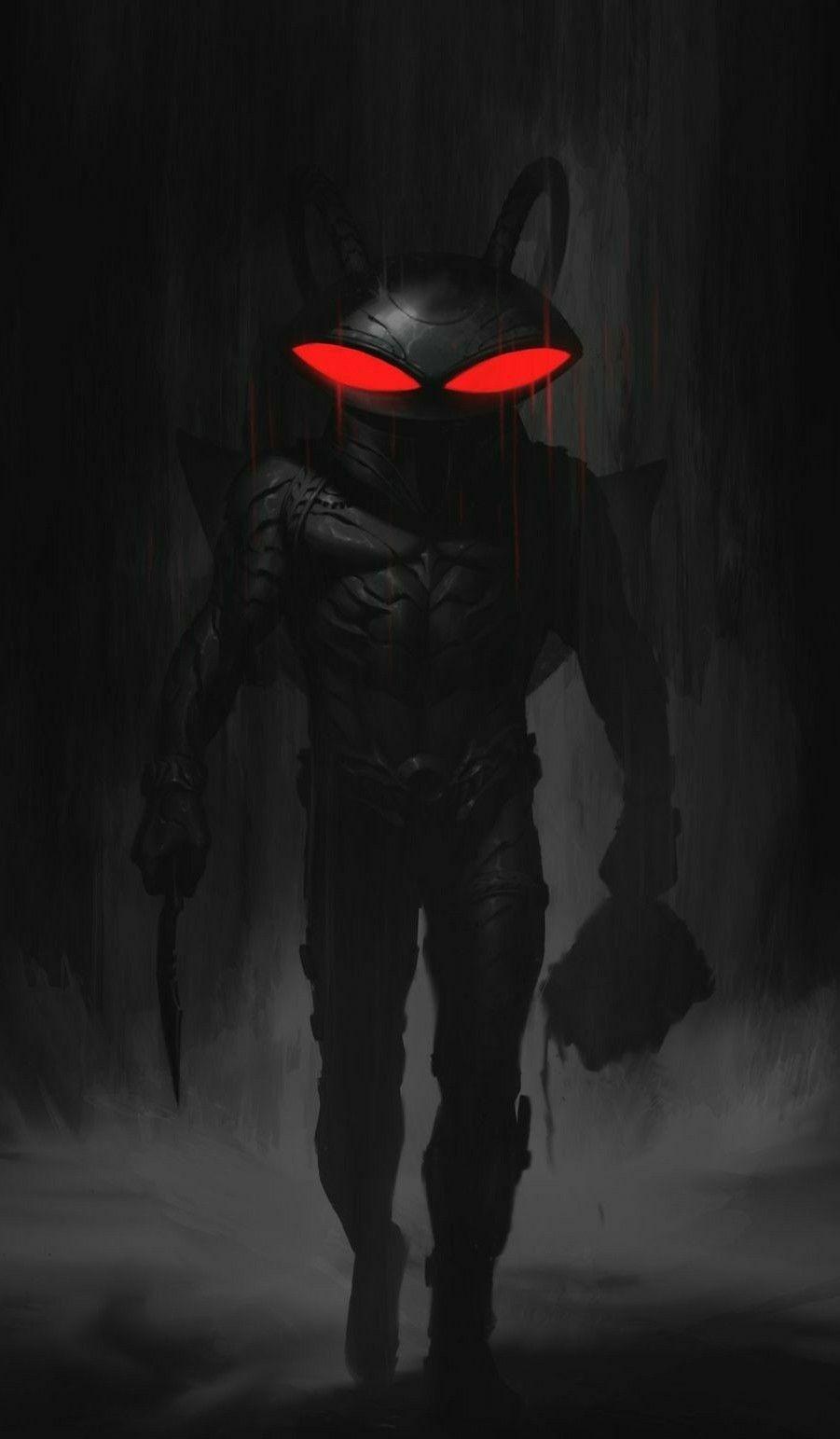 Aranha Negra Dc Comics Art Black Manta Superhero Villains