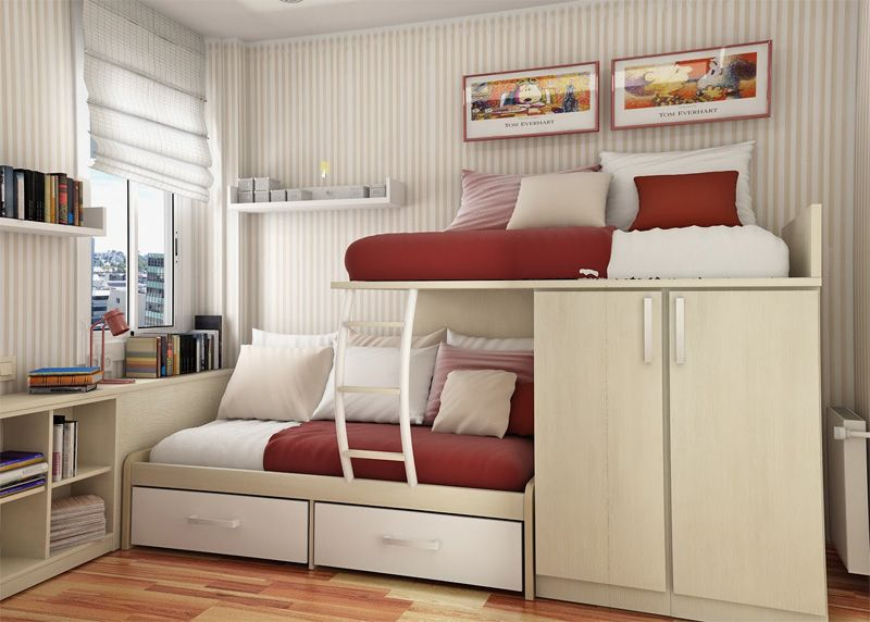 Here Are Some Modern Teenage Bedroom Ideas For Small Rooms