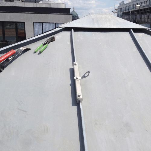 Falz V Metal Roof Anchorage For Single User Mechanical Seam Panels Metal Roof Metal Roof Panels Roofing