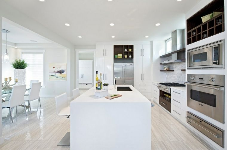 Cocina blanca - 42 diseños de cocinas que te encantarán - in 2018 ...