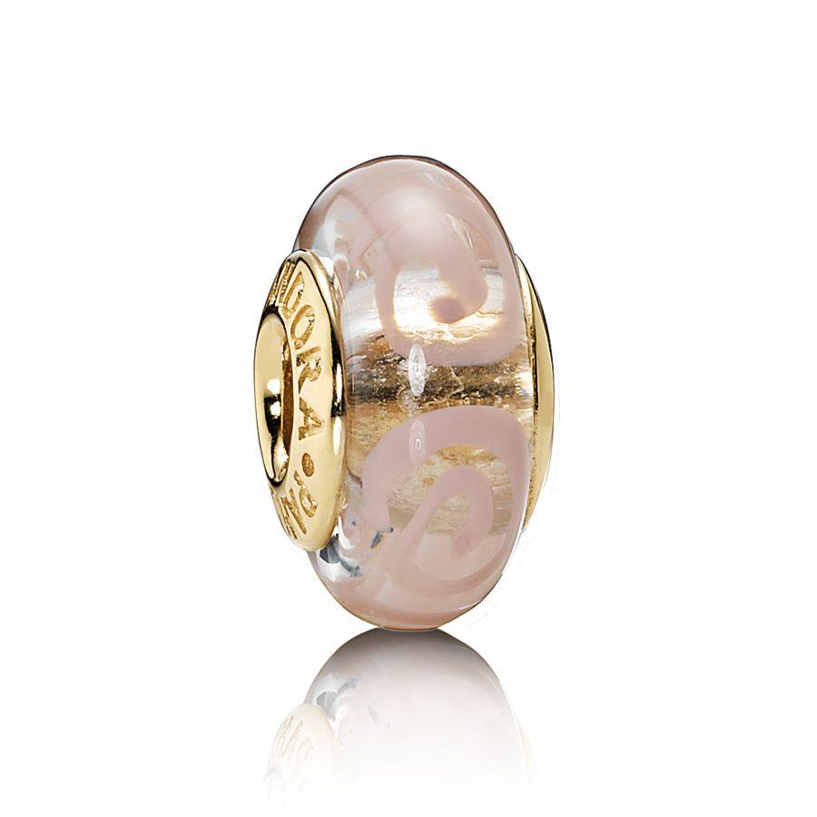 abalorios pandora oro rosa