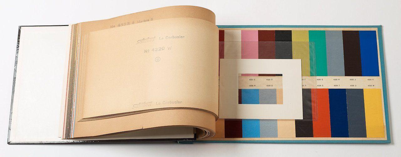 le corbusier s 1931 polychrome series ditorial et disposition pinterest farbig farben. Black Bedroom Furniture Sets. Home Design Ideas