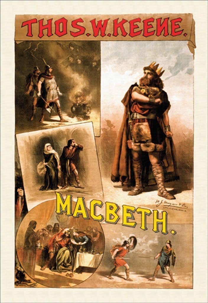 Macbeth - Thomas W. Keene, by W.J. Morgan & Co.