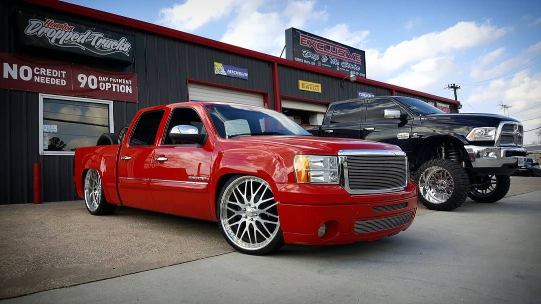 Gmc Sierra Crew Cab Houston Dropped Trucks