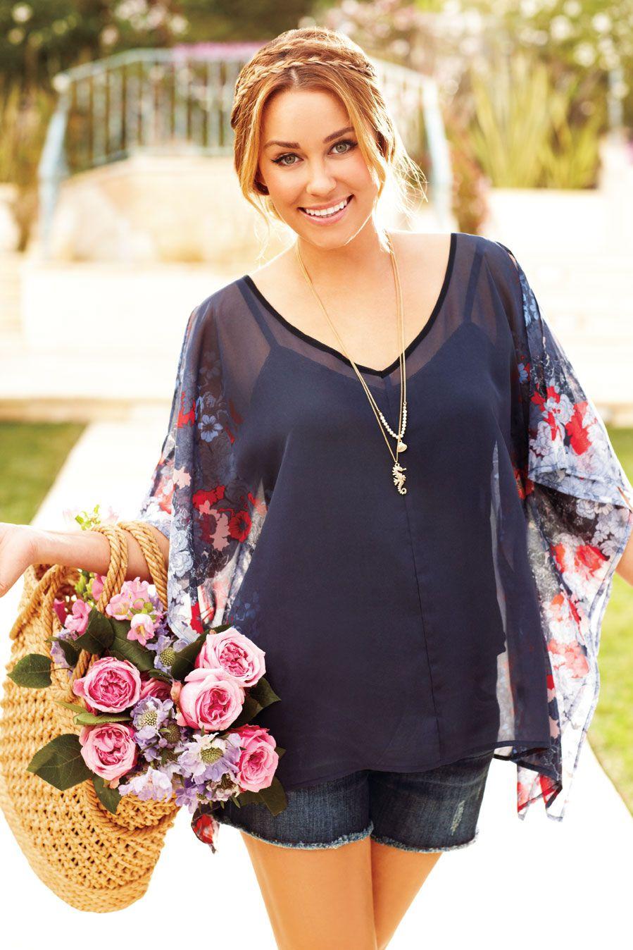 Lauren Conrad. Hair, shirt, and necklace= wonderful