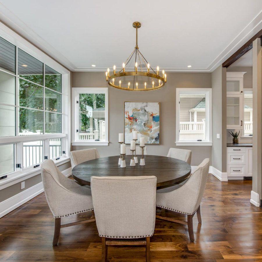 Awe Inspiring Denver Transitional Dining Room Residential Interior Design Home Interior And Landscaping Elinuenasavecom