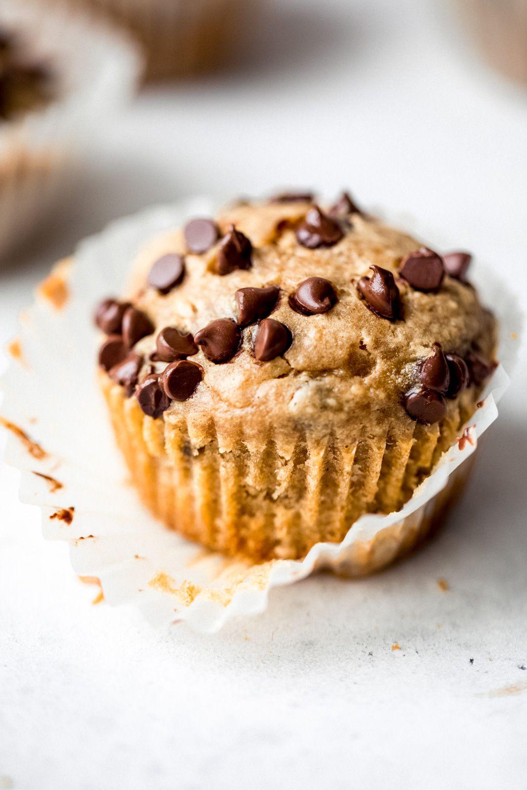 Healthy Peanut Butter Banana Muffins Recipe Healthy Peanut