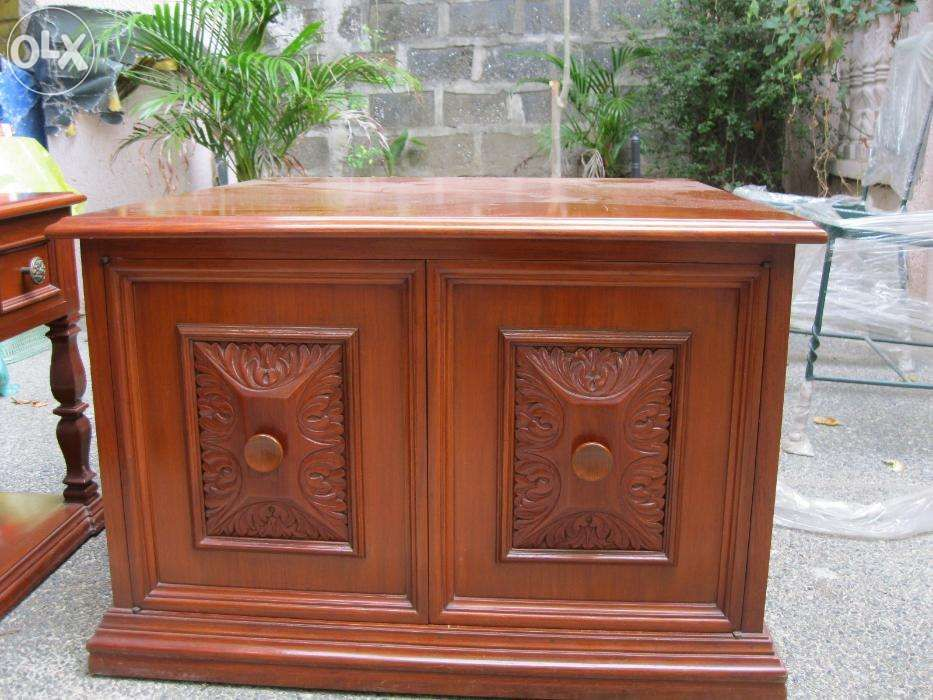 narra side tables with cabinet For Sale Philippines - Find 2nd Hand ...