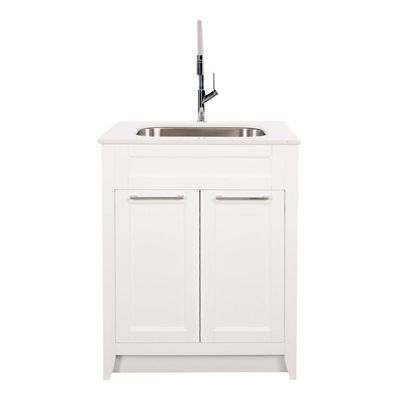 Foremost Laundry Tubs & Faucet WAWLVT2936 Warner 29-in Laundry ...