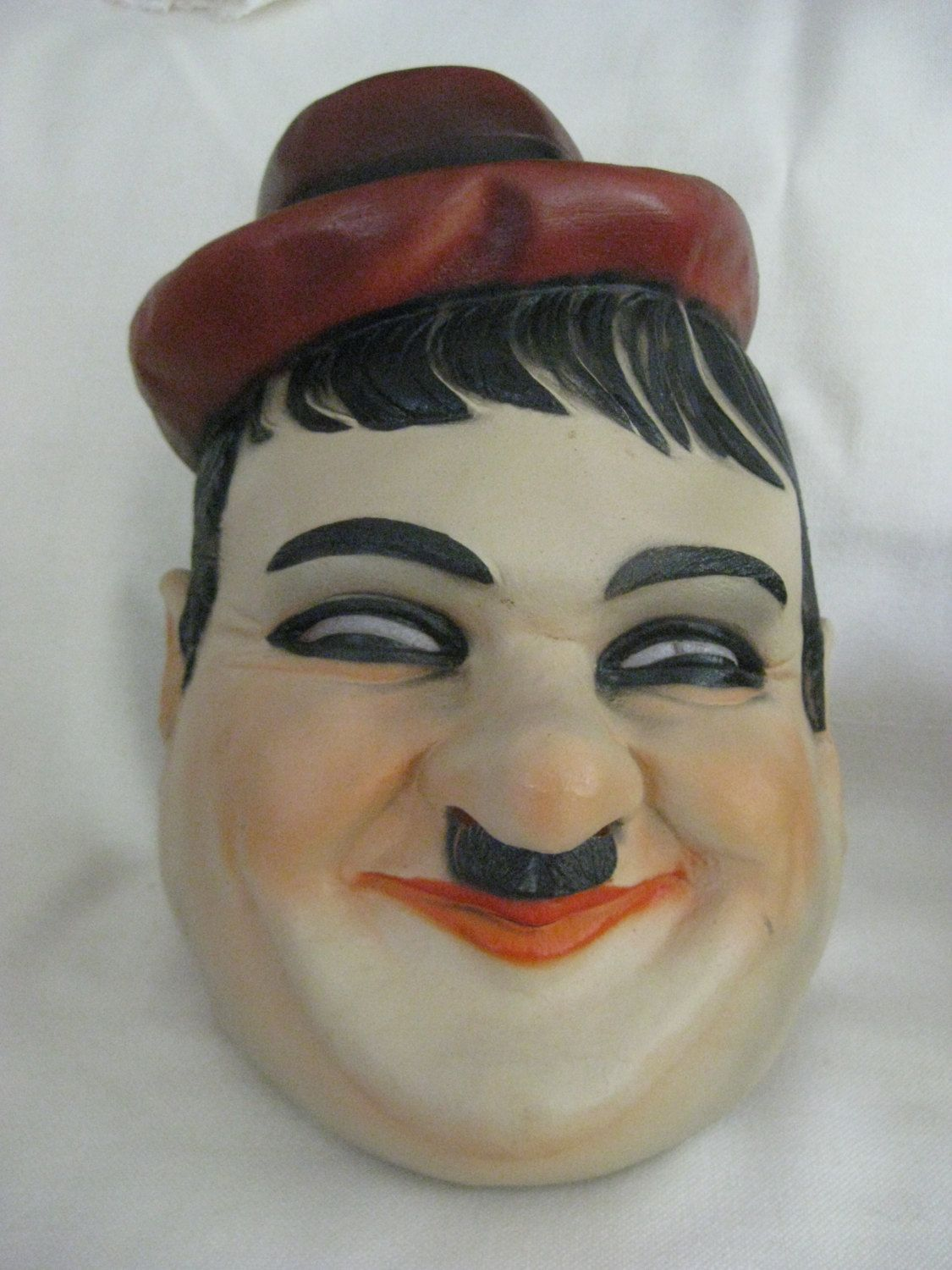 Vintage RARE Hardy Rubber Larry Harmon Mask by