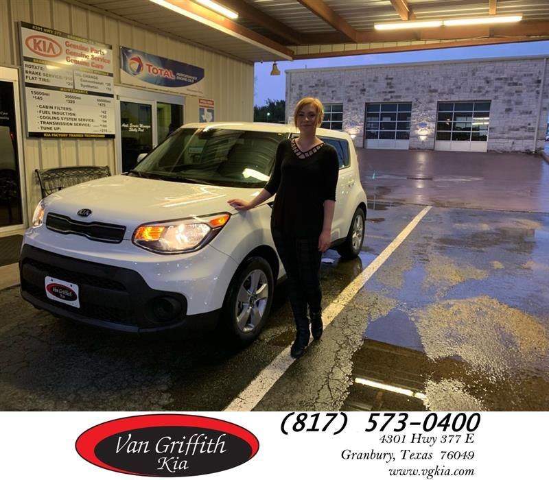Van Griffith Kia Customer Review Beth has been great every